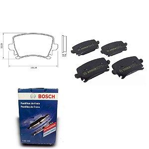 Pastilha de Freio Traseira A3 2.0 TFSI Sportback 05-13 Bosch
