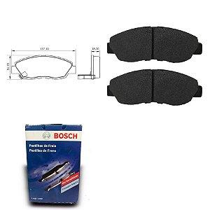 Pastilha Freio Dianteira Accord 2.2i 16V Sedan 90-93 Bosch