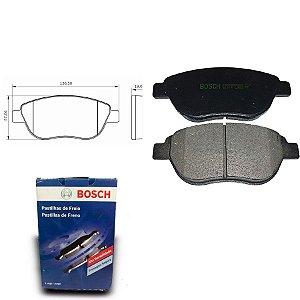 Pastilha Freio Dianteira Aircross 1.6 16V  10-12 Bosch