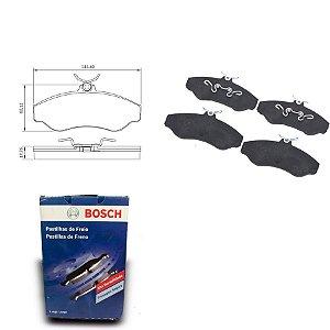 Pastilha de Freio Dianteira Blazer 4.3 V6 MPFI 96-03 Bosch