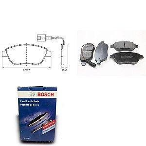 Pastilha de Freio Dianteira Bravo 1.4 16V T-Jet 11-18 Bosch