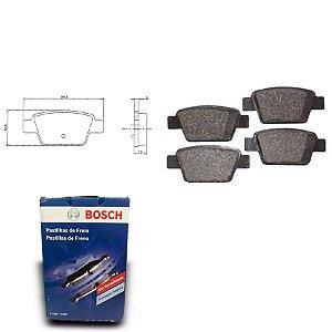 Pastilha de Freio Traseira Bravo 1.4 16V T-Jet 11-18 Bosch