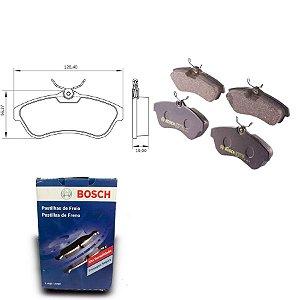 Pastilha de Freio Dianteira C3 1.6 16V  05-12 Bosch