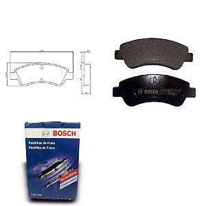 Pastilha Freio Dianteira C4 Hatch 1.6 16V  09-18 Bosch