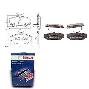 Pastilha Freio Dianteira CG4ic 1.6 16V LX Sedan 97-00 Bosch