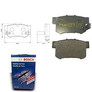 Pastilha de Freio Traseira CG4ic 2.0 16V Si 07-11 Bosch