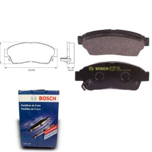 Pastilha Freio Dianteira Corolla 1.6 16V Sedan 97-08 Bosch