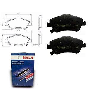 Pastilha Freio Dianteira Corolla 1.8 16V Sedan  08-15 Bosch