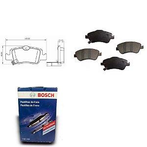 Pastilha Freio Traseira Corolla 1.8 16V Sedan  07-15 Bosch