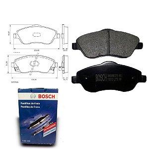 Pastilha de Freio Dianteira Corsa 1.8 MPFI 02-12 Orig. Bosch