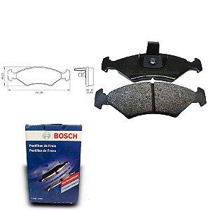 Pastilha de Freio Dianteira Courier 1.6 99-18 Orig. Bosch