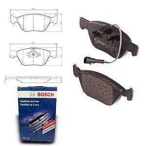 Pastilha Freio Dianteira Doblo AdvLocker 1.8 16V 10-18 Bosch
