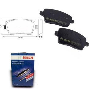 Pastilha Freio Dianteira Duster 1.6 16V  11-18 Bosch