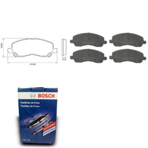 Pastilha de Freio Dianteira Eclipse 3.8i Coupe 05-12 Bosch