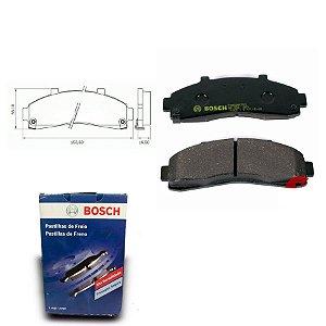 Pastilha de Freio Dianteira Explorer 4.0 4x4 96-01 Bosch