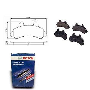 Pastilha de Freio Dianteira Ford F1000 92-96 Original Bosch