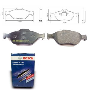 Pastilha Freio Traseira Fiesta 1.6 PowerShift 13-18 Bosch