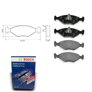 Pastilha Freio Dianteira Fiorino Pick-up 1.5 SPI 94-96 Bosch