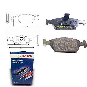 Pastilha de Freio Dianteira Fit 1.4i 16V  08-14 Bosch