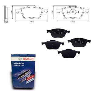 Pastilha de Freio Dianteira Focus 1.6 16V  10-13 Bosch