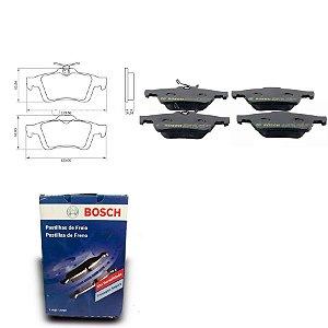 Pastilha de Freio Traseira Focus 1.6 8V 03-18 Orig. Bosch