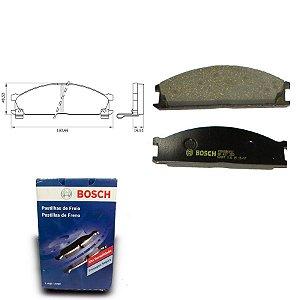 Pastilha Freio Dianteira  Frontier 2.8 Diesel 05-08 Bosch