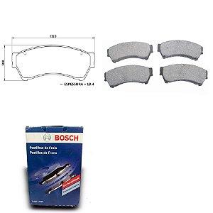Pastilha de Freio Dianteira Fusion 2.5i 16V 09-13 Bosch