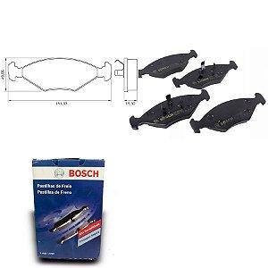 Pastilha Freio Dianteira Gol G2 Special 1.0Mi 8V 99-05 Bosch
