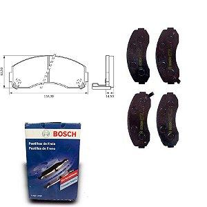 Pastilha de Freio Dianteira  Haice 2.2 i 03-18 Orig. Bosch