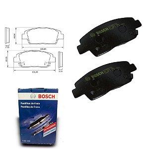 Pastilha de Freio Dianteira HB20 1.0  12-18 Orig. Bosch