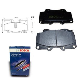 Pastilha Freio Dianteira Hilux 2.5 16V D Turbo 05-11 Bosch