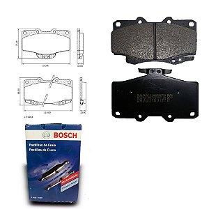 Pastilha de Freio Dianteira Hilux 2.7 16V 4x4 09-12 Bosch