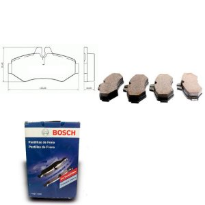 Pastilha de Freio Traseira Hilux 4x4 4.0 09-12 Orig. Bosch