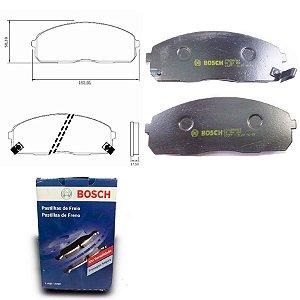 Pastilha de Freio Dianteira HR 2.5 TCI 07-12 Original Bosch