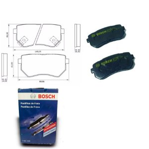 Pastilha de Freio Traseira  ix35 2.0  12-18 Orig. Bosch