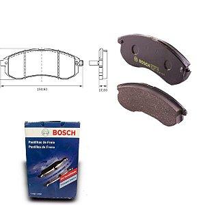 Pastilha de Freio Dianteira L 200 2.5 D Turbo 97-03 Bosch