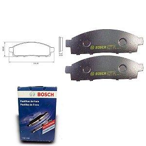 Pastilha Freio Dianteira L 200 3.5i 4x4 Triton  09-18 Bosch