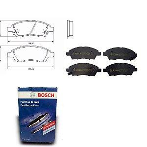 Pastilha de Freio Dianteira  March 1.0 16V  11-14 Bosch