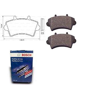 Pastilha de Freio Dianteira Master 2.3 dCi 16V 12-18 Bosch