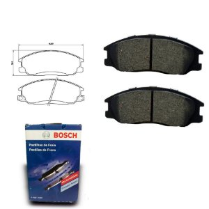 Pastilha de Freio Dianteira Rexton 3.2 i 4WD 02-09 Bosch
