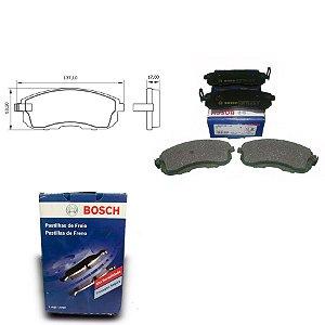 Pastilha Freio Dianteira Sentra 1.6 16V GST,GSX 96-18 Bosch