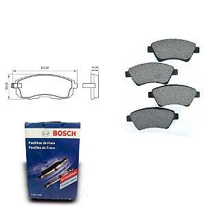 Pastilha de Freio Dianteira Stilo 1.8 MPI 8V 02-05 Bosch