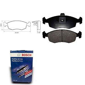 Pastilha Freio Dianteira Strada 1.4 MPI 8V  05-12 Bosch