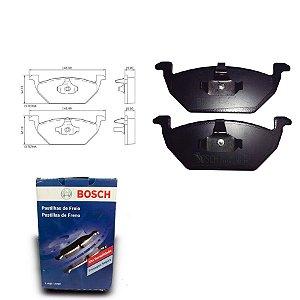 Pastilha Freio Dianteira TT 1.8 T Coupe quattro 98-01 Bosch