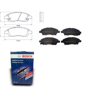 Pastilha de Freio Dianteira  Versa 1.6  11-18 Bosch