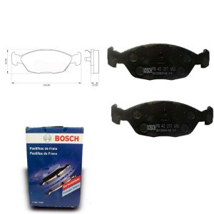 Pastilha de Freio Dianteira Versailles 2.0 93-96 Bosch