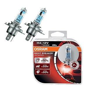 Lâmpada VMAX 1700 14-16 Osram Night Breaker Yamaha Par