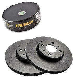 Par Disco Freio Dianteiro Idea Elx 1.4 8V Fire 06-10 Fremax