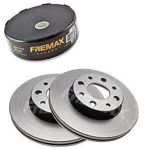 Par Disco Freio Dianteiro Palio Ex 1.0 8V Fire 01-08 Fremax