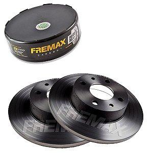 Par Disco Freio Dianteiro Uno Csl 1.6 8V Sevel 90-95 Fremax